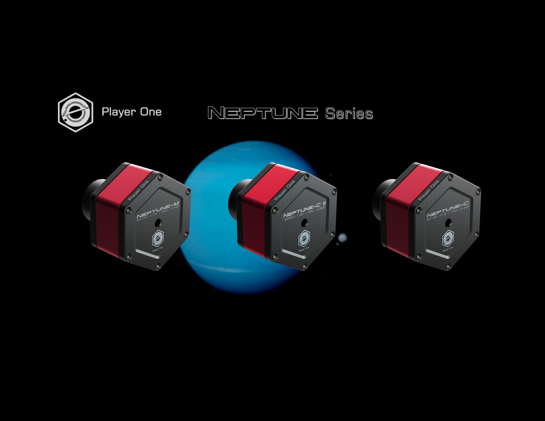 Neptune-C II and Neptune Camera series is released TODAY!