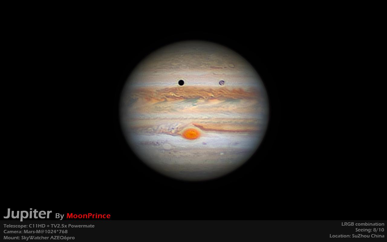 Best jupiter in 2020, C11HD + Mars-M camera