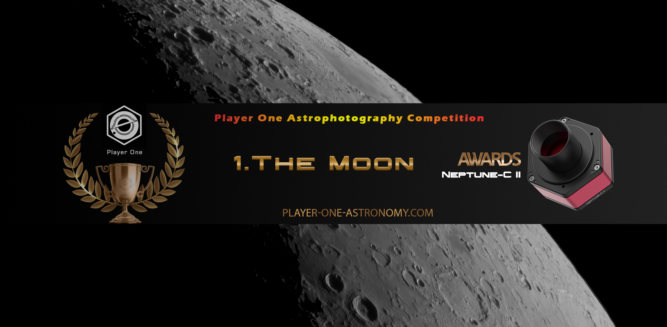 Player One Astrophotography competition Round 1: The Moon