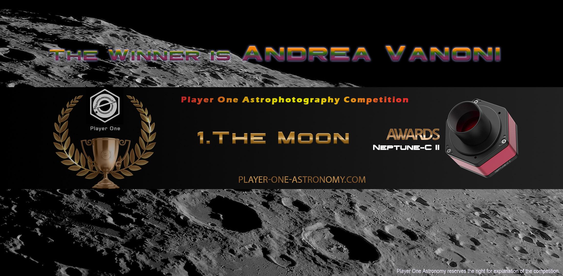 Round 1 winner: Andrea Vanoni