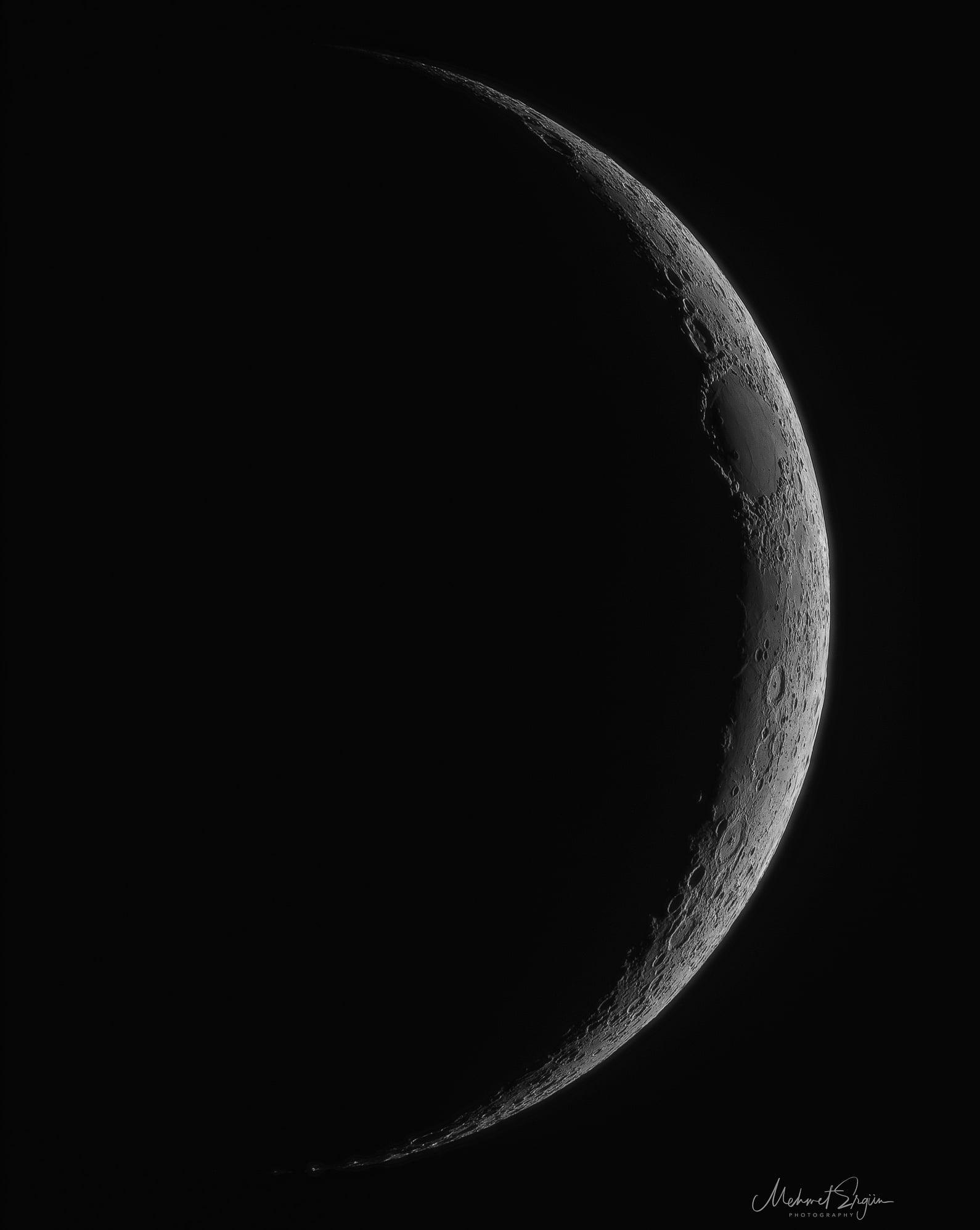Moon by Mehmet Ergün
