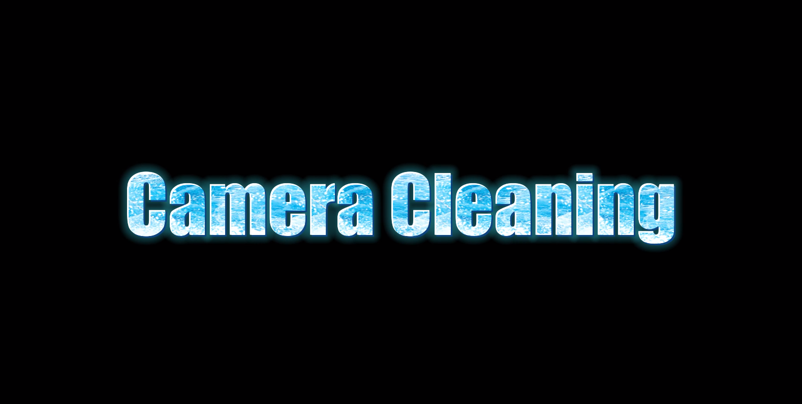 Cleaning tutorial of planetary cameras
